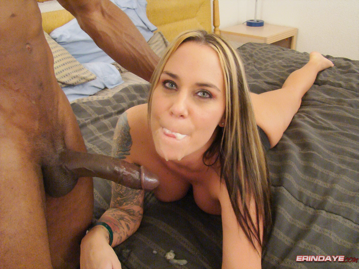 Sloppy blowjob & he cums in my mouth